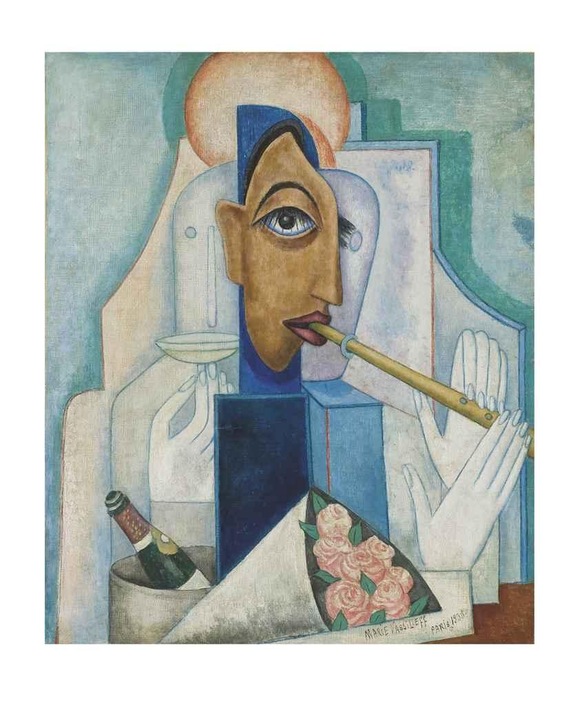 Le Flûtiste (portrait de Claude Duboscq)