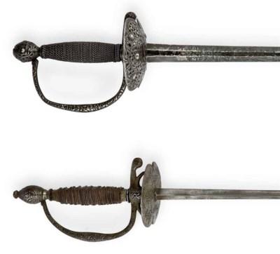 Deux épées de cour