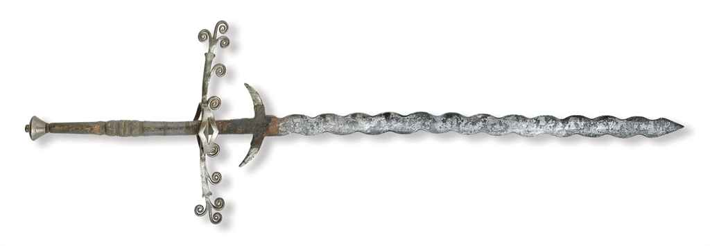 Epée de procession à deux main