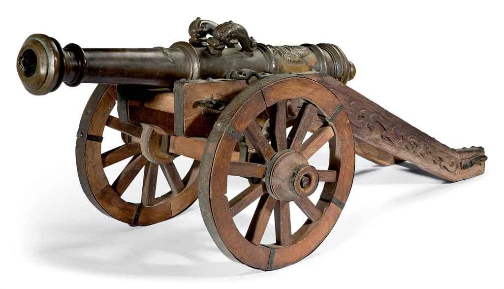 Petit modèle de canon d'orneme