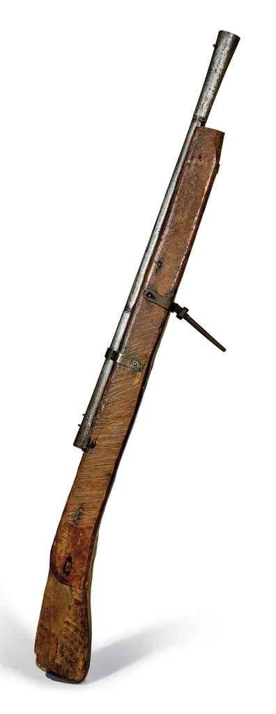 Important fusil de rempart de