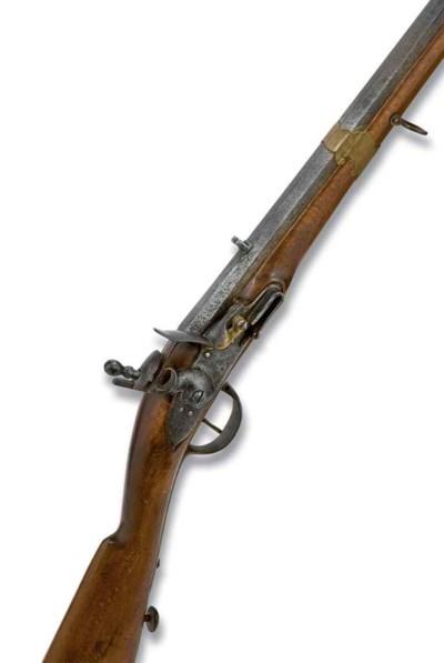 Carabine à silex de type régle