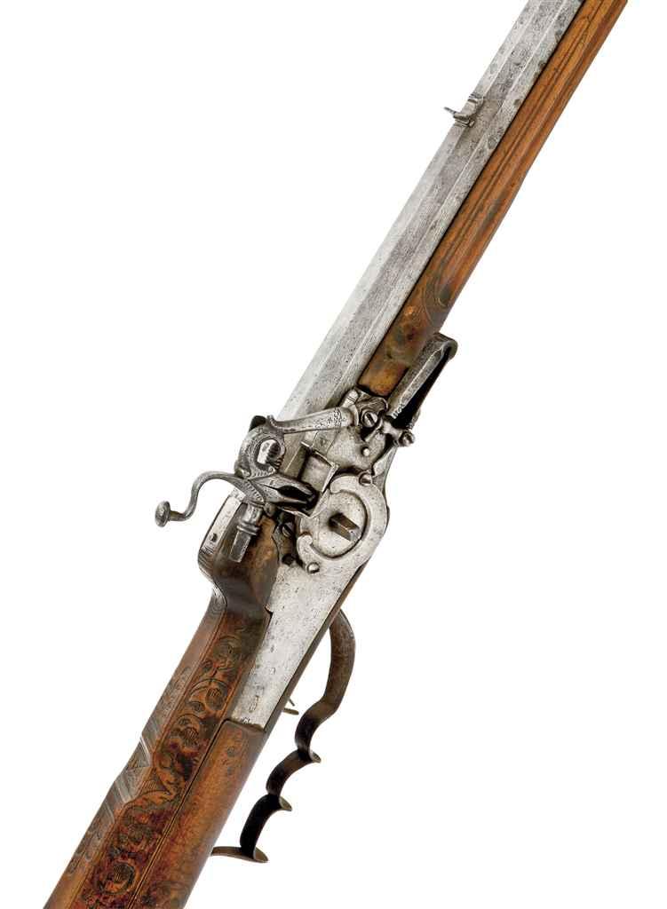 Fusil de chasse à rouet allema