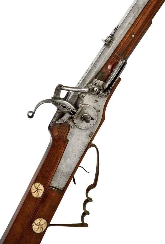 Carabine de chasse à rouet all