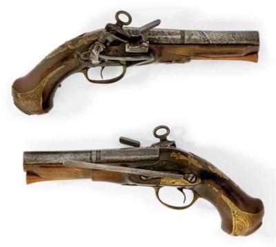 Paire de pistolets de ceinture