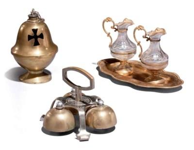 Ensemble d'objets liturgiques