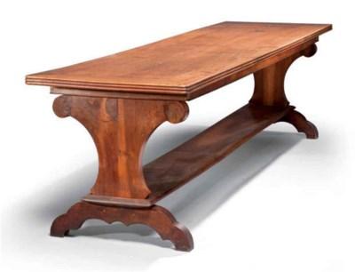 Table de réfectoire de style b