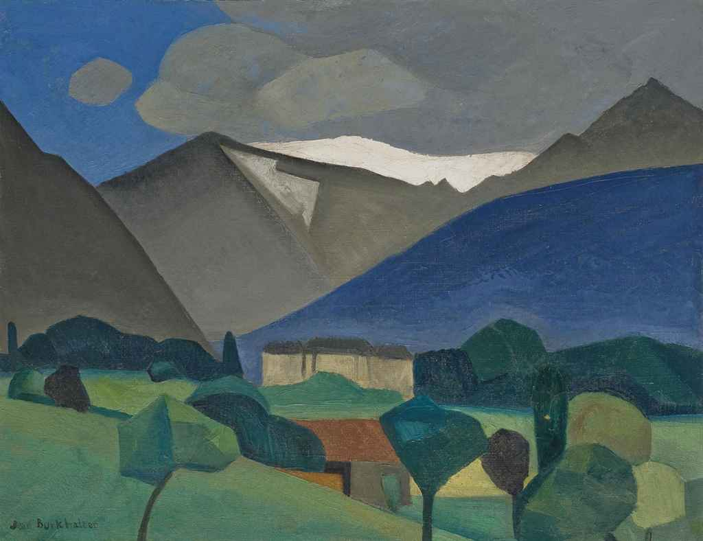 Jean Burkhalter (1895-1982)