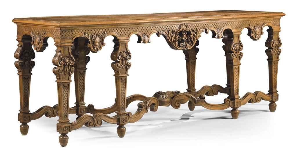 TABLE A GIBIER CONSOLE DE STYL
