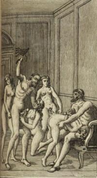 [CURIOSA] -- SADE, Donatien Alphonse François, marquis de (1740-1814). Histoire de Justine ou Les Malheurs de la vertu illustrée de 44 gravures sur acier. En Hollande: 1797 [Bruxelles: vers 1865].