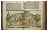 [INCUNABLE] -- SCHEDEL, Hartmann (1440-1514). Liber Chronicarum. Nuremberg: Anton Koberger pour Sebald Schreyer et Sébastien Kammermeister, 12 juillet 1493.