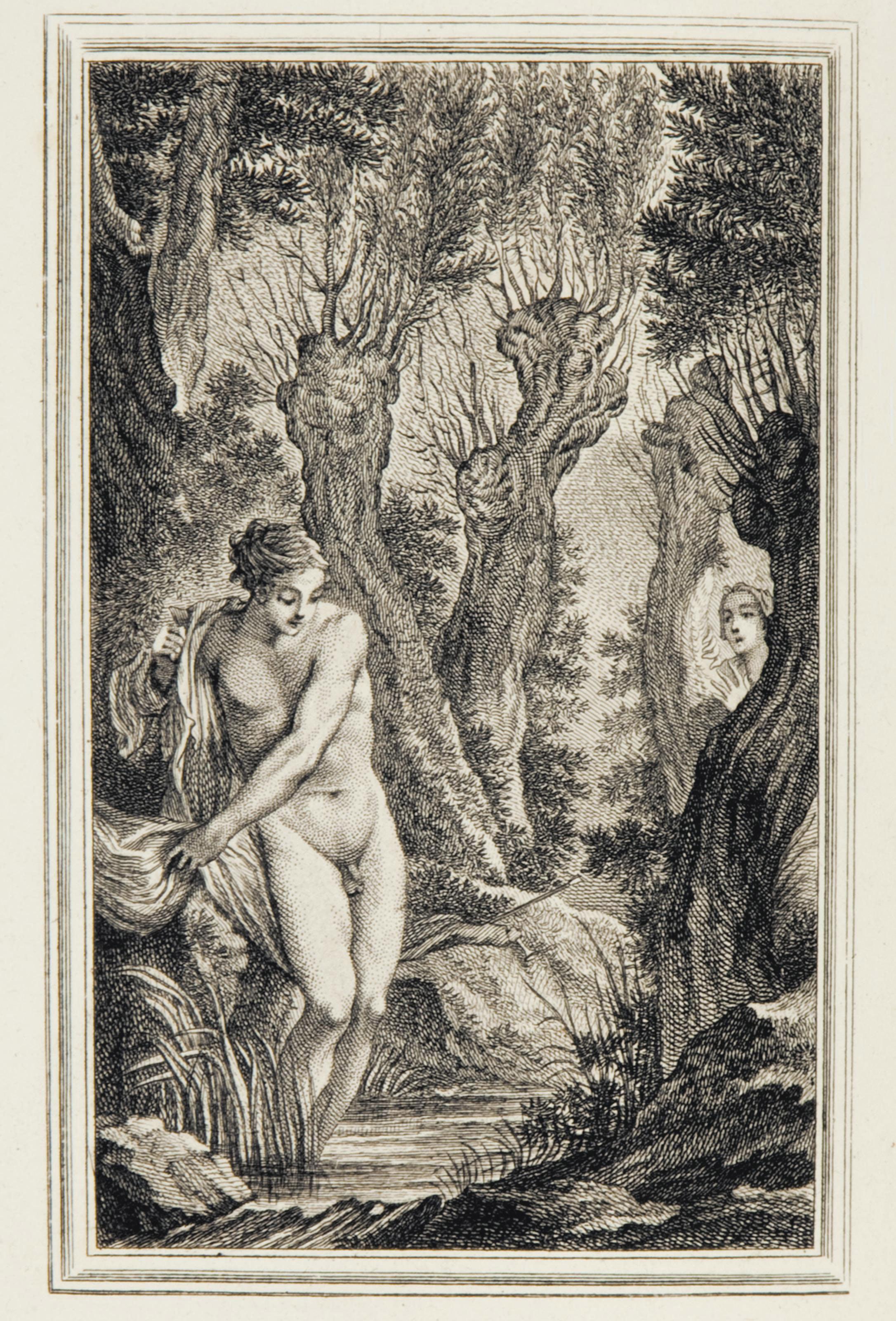 LA FONTAINE, Jean de (1621-1695). Contes et nouvelles en vers. Amsterdam: [Paris: David jeune], 1762.