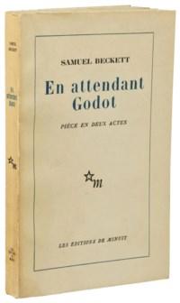 BECKETT, Samuel (1906-1989). En attendant Godot. Pièce en deux actes. Paris: Éditions de Minuit, 1952.
