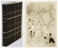 [CHAGALL] -- GIRAUDOUX, Jean (1882-1944) et d'autres. Les Sept péchés capitaux. Eaux-fortes de Marc Chagall. Paris: Au Sans Pareil, 1926.