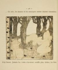 [DENIS] -- GIDE, André (1869-1951). Le Voyage d'Urien. Illustrations de Maurice Denis. Paris: Librairie de l'art indépendant, 1893.