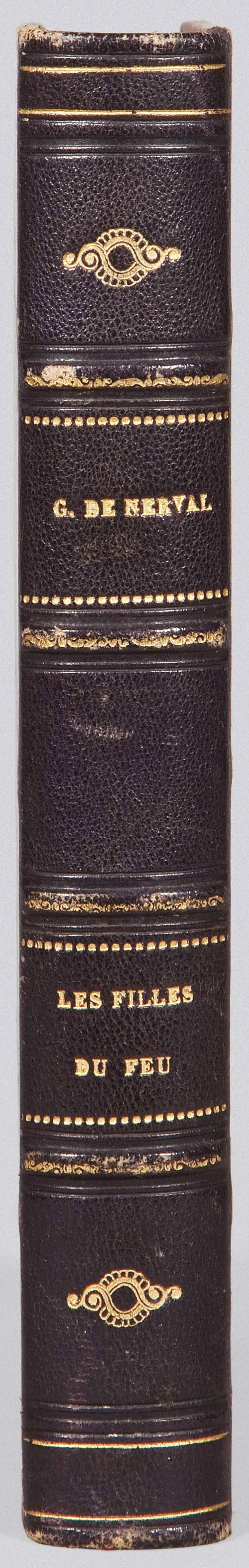 NERVAL, Gérard de (1808-1855). Les Filles du feu. Nouvelles. Paris: Gustave Gratiot pour D. Giraud, 1854.