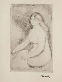 [RENOIR] -- VOLLARD, Auguste (1866-1939). La Vie & l'oeuvre de Pierre-Auguste Renoir. Paris: Ambroise Vollard, 1919.