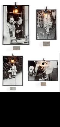 i: Conversation piece - Femme et Enfant au Balcon ii: Conversation piece - Jeune Fille Buvant iii: Conversation piece - Femme et Enfant iv: Conversation piece - Le gentil chien