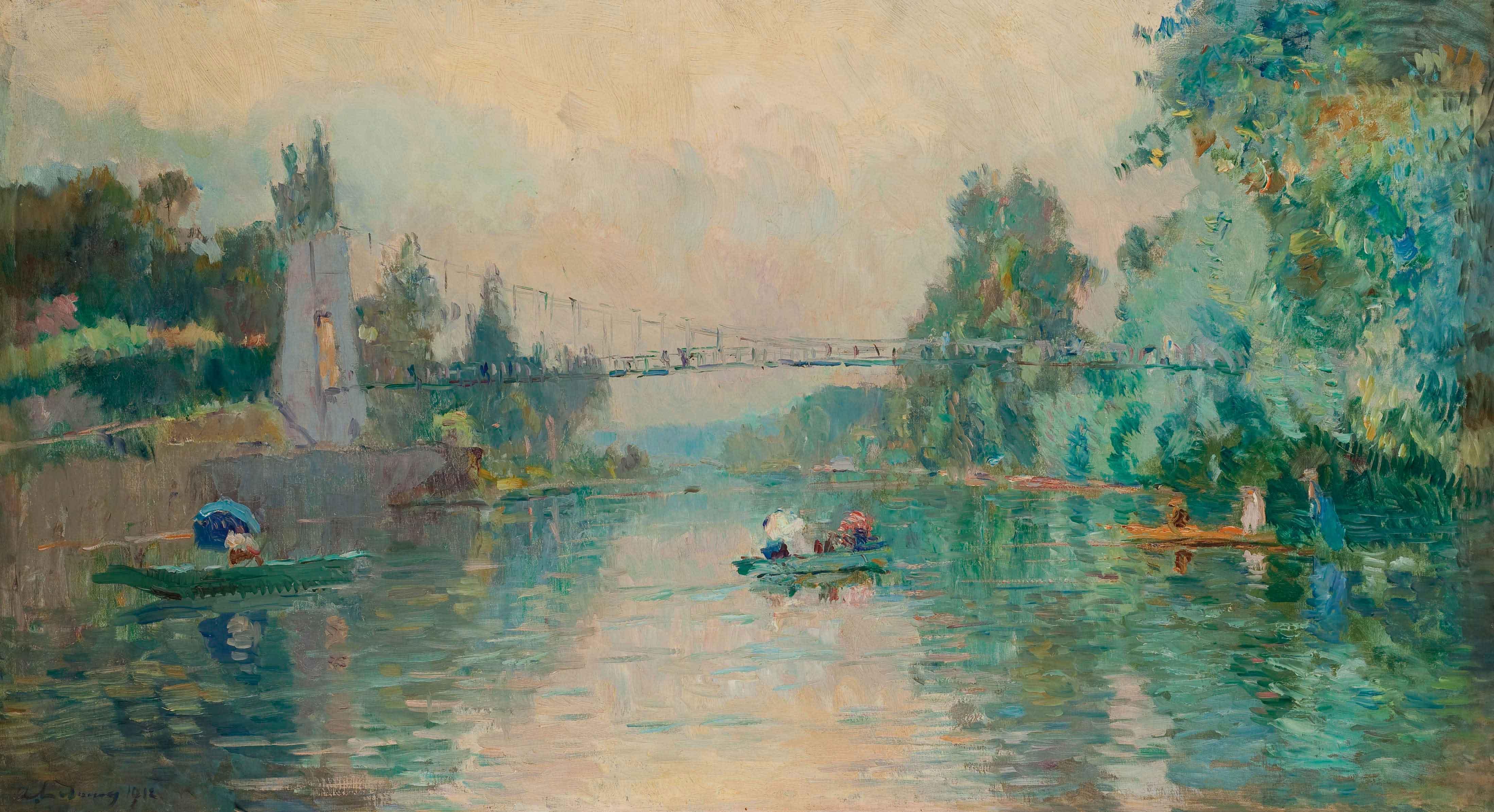 La Marne au Parc-Saint-Maur