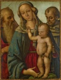 Vierge à l'Enfant avec saint Jérôme et saint Francis