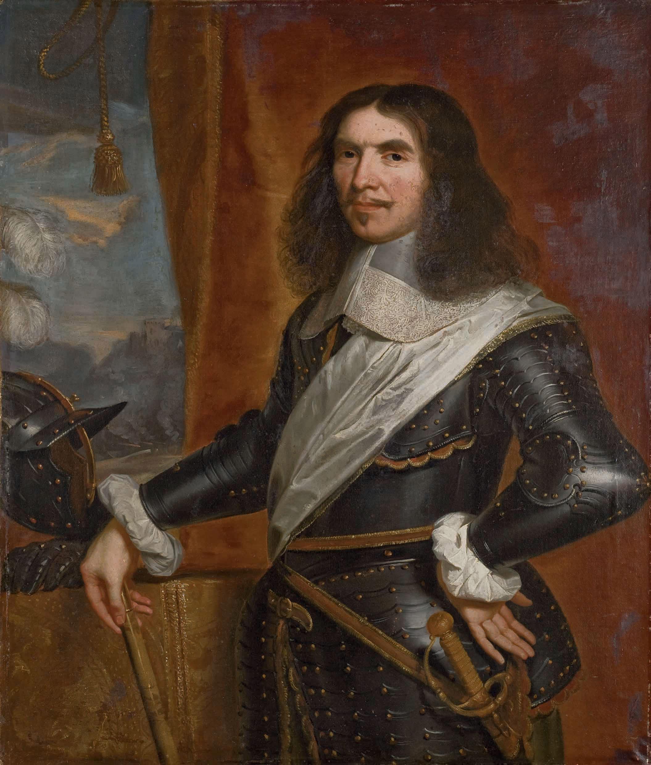 Portrait d'Henri de la Tour d'Auvergne, Vicomte de Turenne
