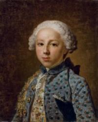 Portrait d'un jeune homme en buste