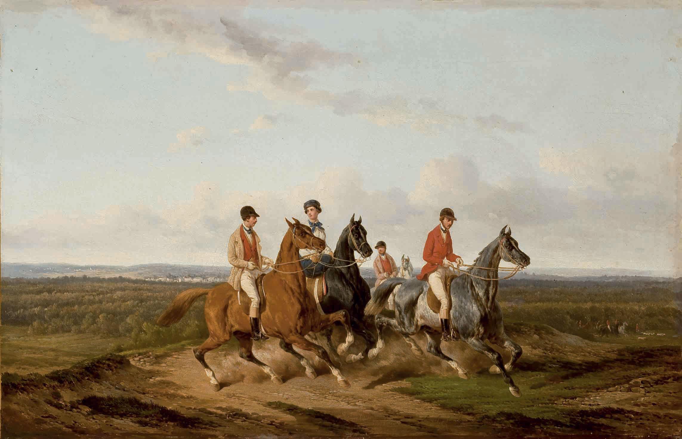 Promenade de cavaliers