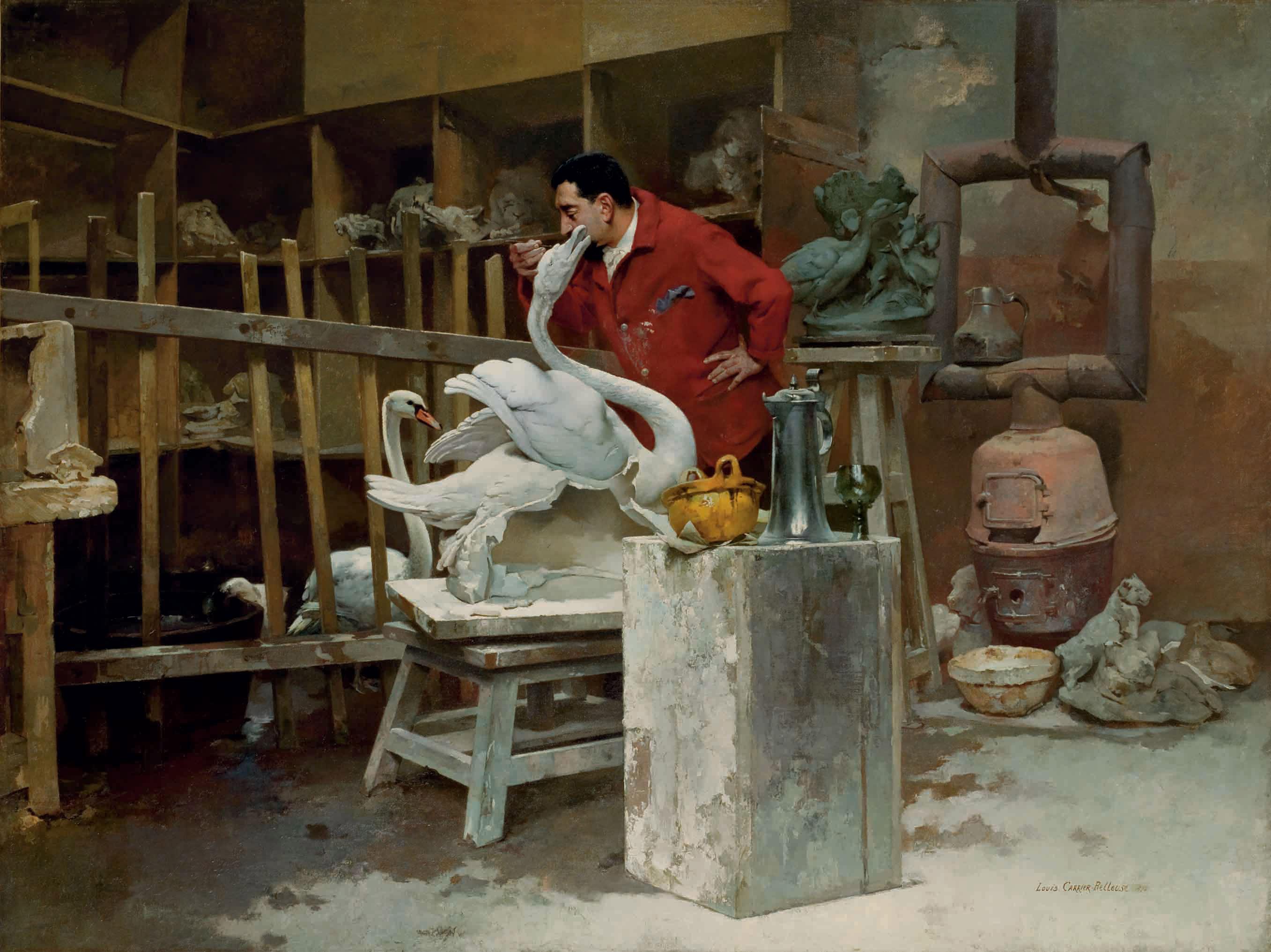 Le sculpteur animalier