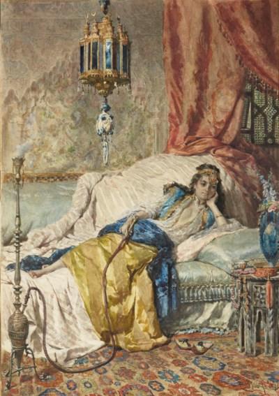 CESARE BISEO (ROMA 1843-1909)
