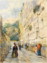Le mur des lamentations, Jérusalem