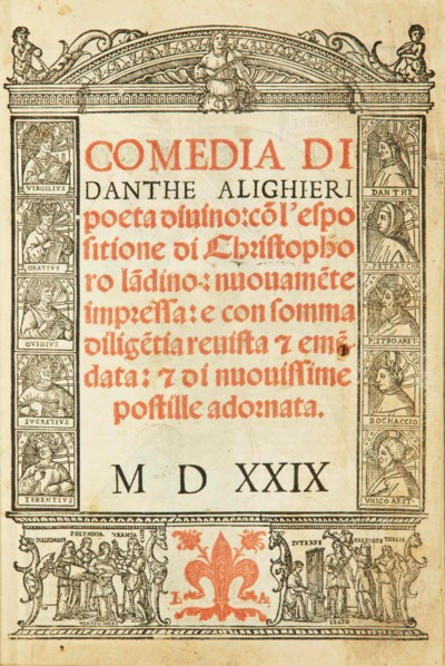 DANTE ALIGHIERI (1265-1321). [