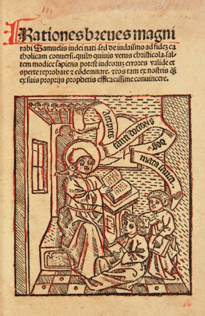 [INCUNABLE] -- SAMUEL, Rabbin
