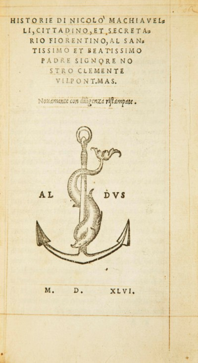 MACHIAVEL, Nicolas (1469-1527)