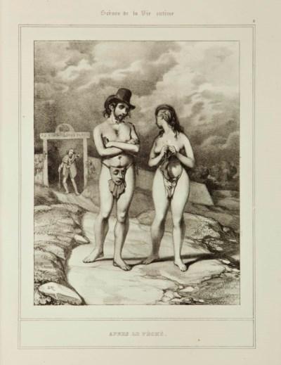 [GAVARNI, Paul (1804-1866)]. D