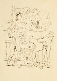 [MASSON] -- [ARAGON, Louis (1897-1982)]. Le Con d'Irène. [Paris: René Bonnel, Pascal Pia 1928].