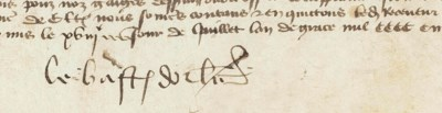 DUNOIS, Jean, comte de (1403-1