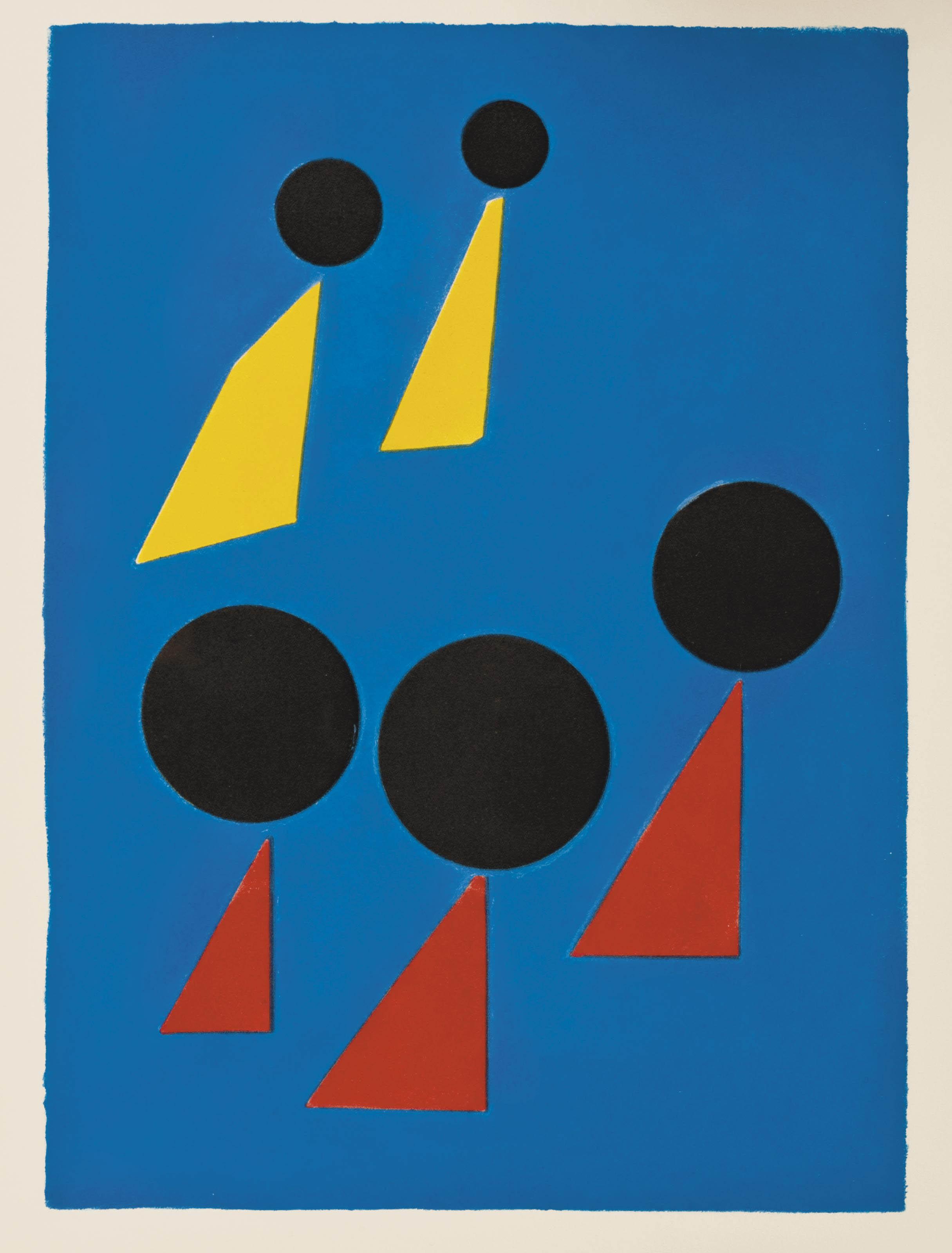 [CALDER] -- PRÉVERT, Jacques (1900-1977). Fêtes. Paris: Fequet et Baudier pour Maeght, 1971.