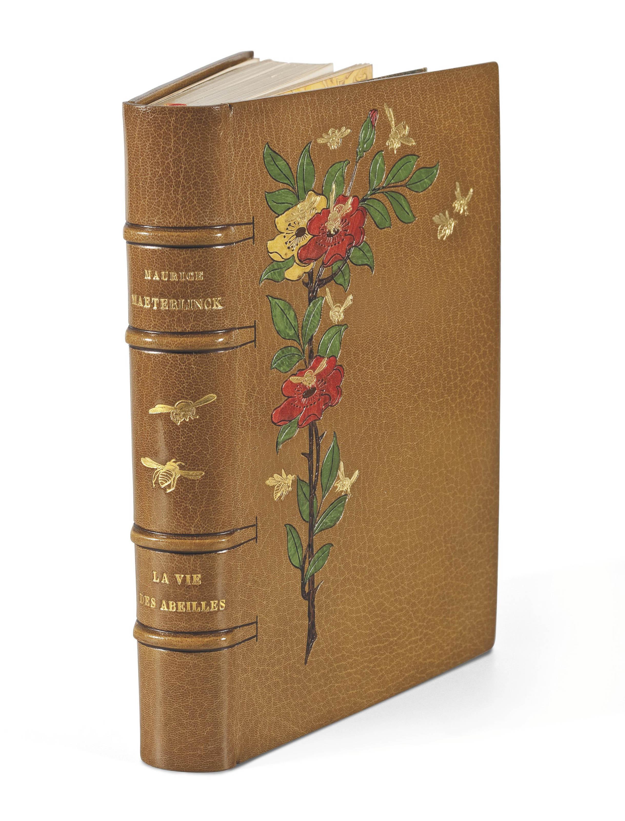 MAETERLINCK, Maurice (1862-1949). La Vie des abeilles. Paris: Société des amis du livre moderne, 1908.