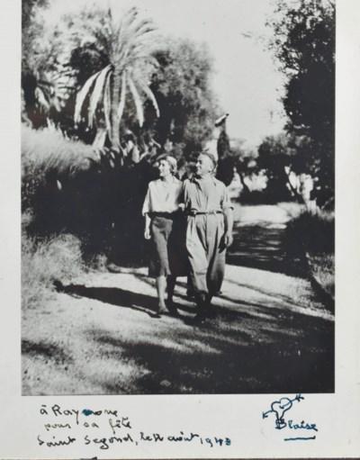 Blaise et Raymone Cendrars mar