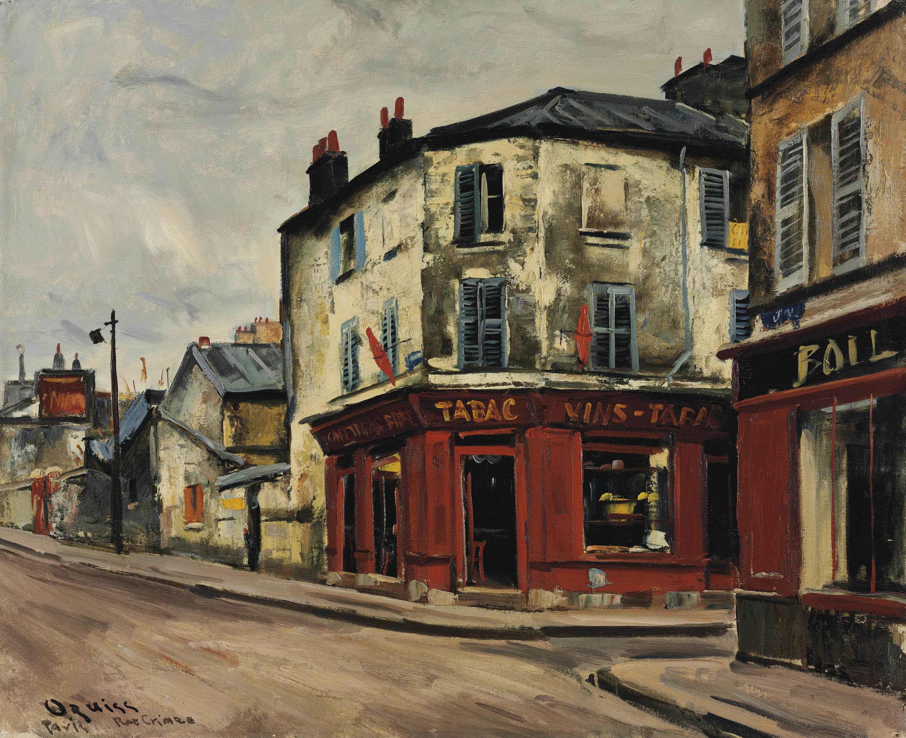 Rue de Crimée, tabac rouge
