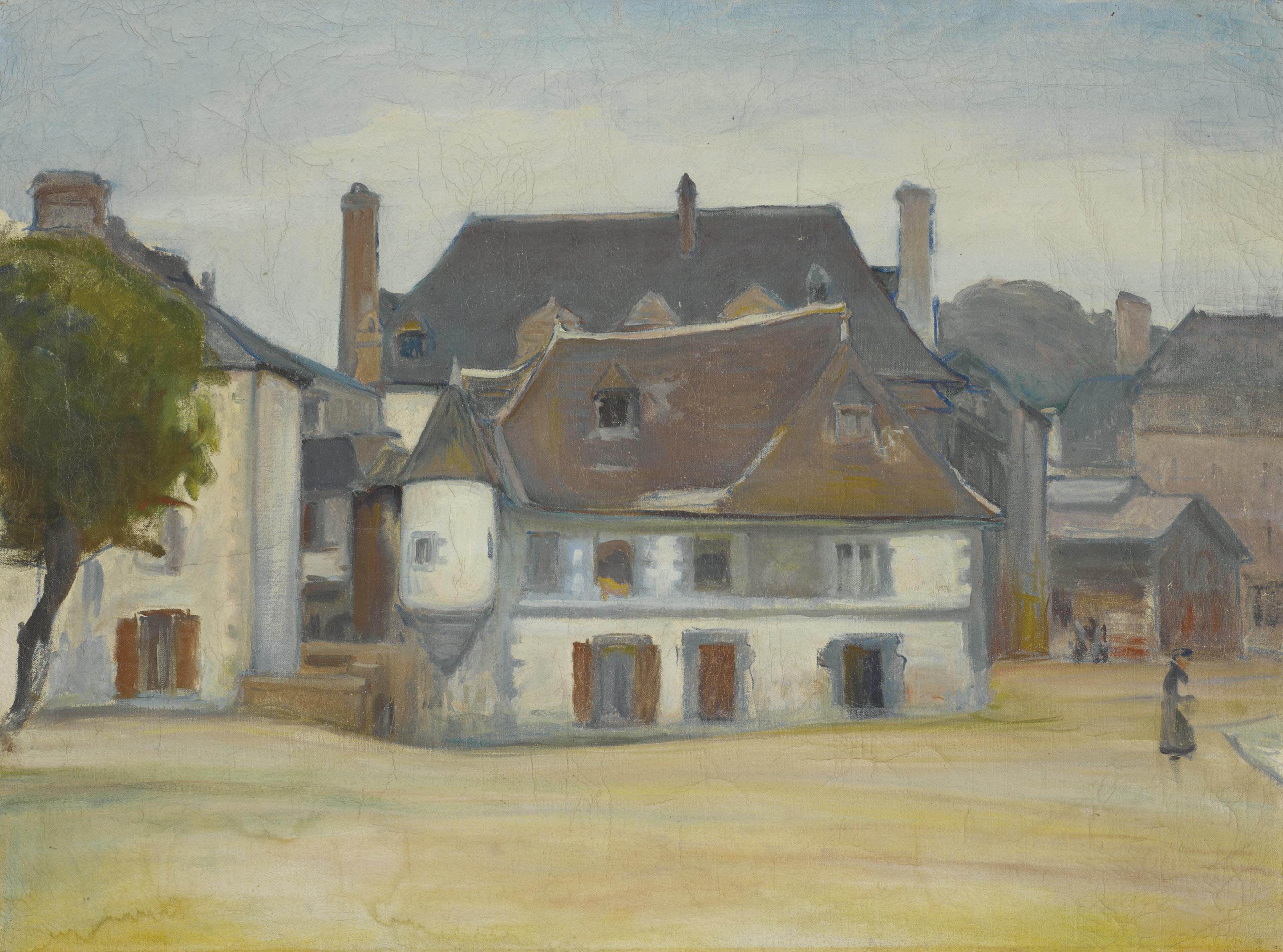 Scène de village
