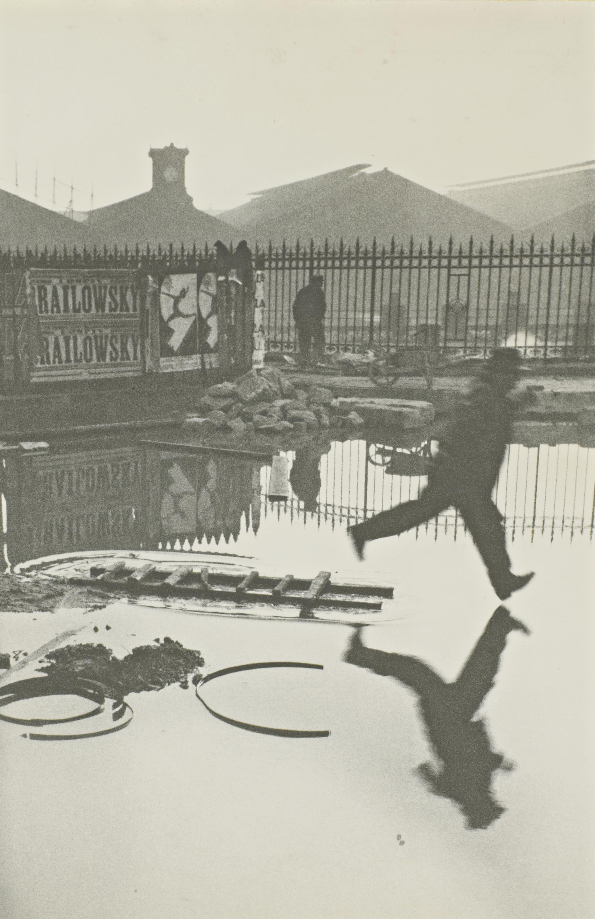 Derrière la gare Saint-Lazare, Paris, 1932