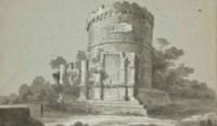 Le mausolée de Cecilia Metella à Rome
