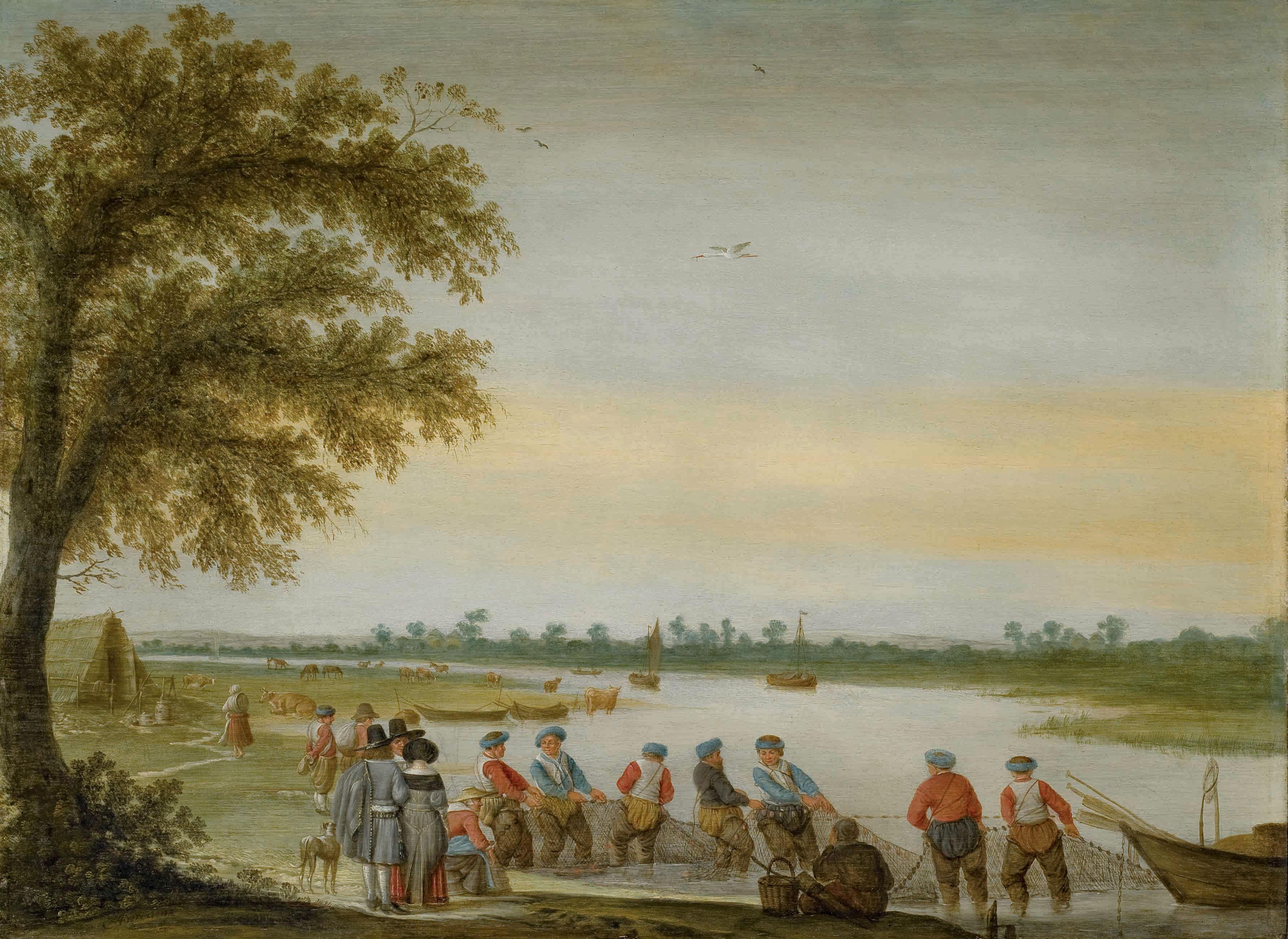 BARENT AVERCAMP (1612-1679)