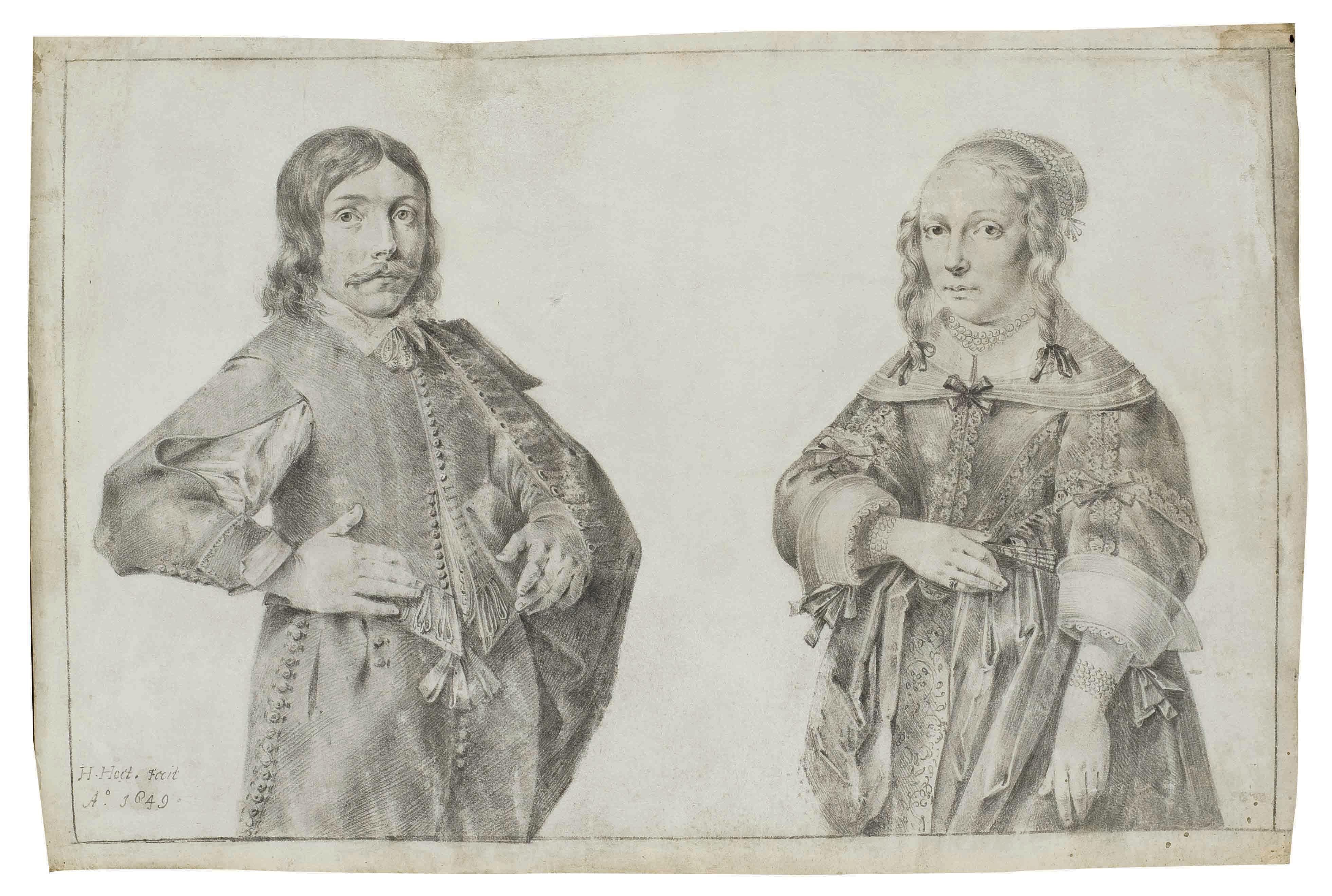 Portraits présumés des enfants de Roeland Govertsz van Haeften et Johanna Roch