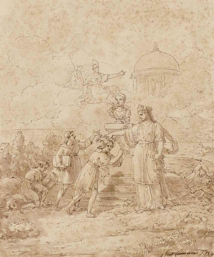 MICHELE CAMMARANO (NAPLES 1835
