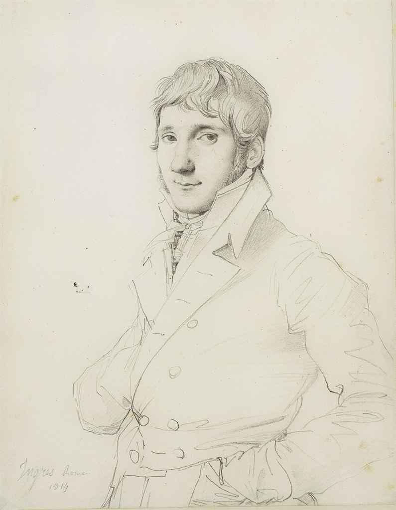 JEAN-AUGUSTE-DOMINIQUE INGRES (MONTAUBAN 1780-1867 PARIS)