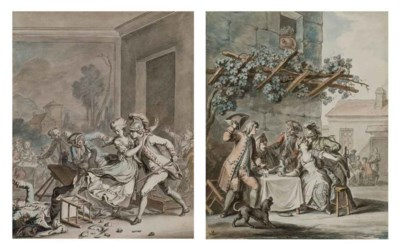 ANTOINE BOREL (PARIS 1754-APRE