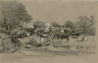 Une caravane orientale