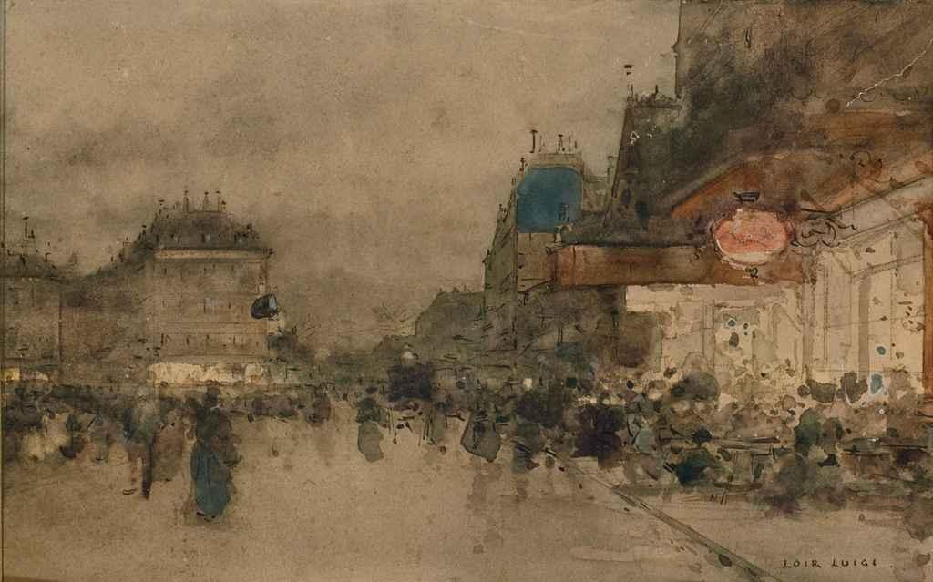 Souvenir de Paris, mars 1897